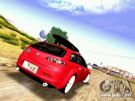 Alfa Romeo 159 Sportwagon para GTA San Andreas left
