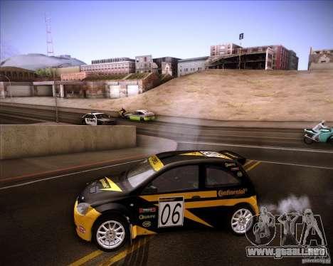Opel Corsa Super 1600 para visión interna GTA San Andreas