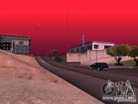 Weather manager para GTA San Andreas décimo de pantalla
