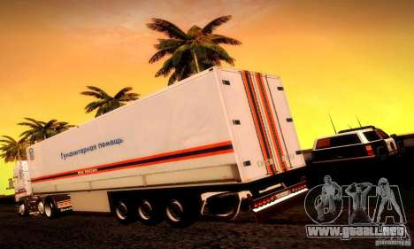 Rusia FEMA Trailer para GTA San Andreas left