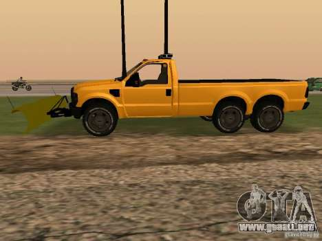 Ford Super Duty F-series para GTA San Andreas left