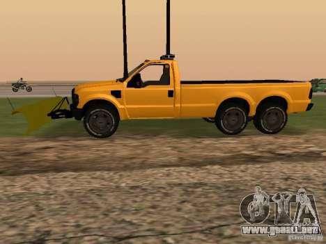 Ford Super Duty F-series para GTA San Andreas left