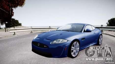 Jaguar XKR-S 2012 para GTA motor 4