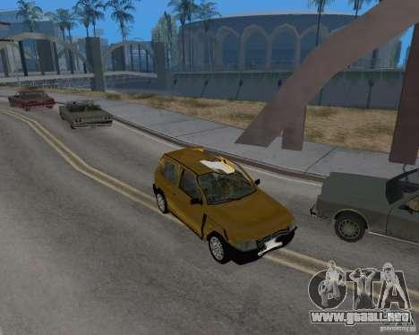 Fiat Mille Fire 1.0 2006 para visión interna GTA San Andreas