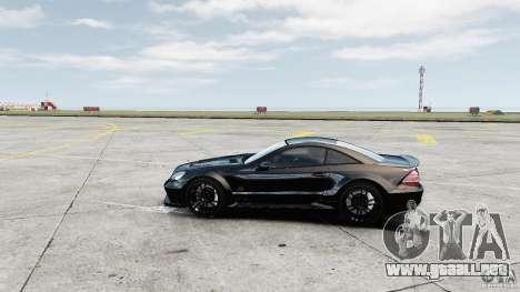 Mercedes-Benz SL65 AMG Black Series 2009 [EPM] para GTA 4 left
