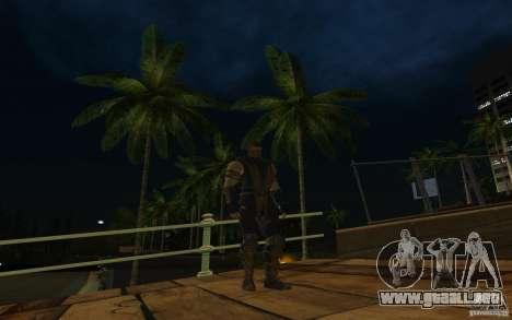 Scorpion v2.2 MK 9 para GTA San Andreas sucesivamente de pantalla
