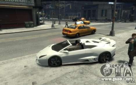 Lamborghini Reventon Roadster REDUX [EPM] para GTA 4 left