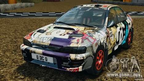 Subaru Impreza WRX STI 1995 Rally version para GTA 4