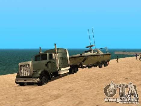 Remolque de barcos para GTA San Andreas