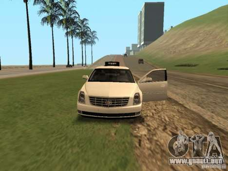 Cadillac DTS 2010 para visión interna GTA San Andreas