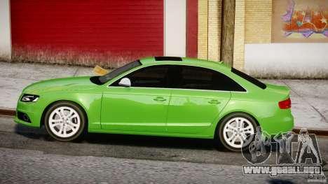 Audi S4 2010 v1.0 para GTA 4 left