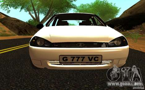 Lada Kalina Stock para GTA San Andreas left