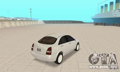 Nissan Primera para GTA San Andreas left
