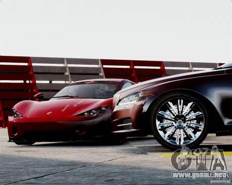 Ascari A10 2007 v2.0 para GTA 4 vista lateral
