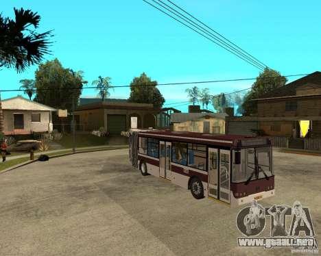 LIAZ 6213.20 para la visión correcta GTA San Andreas