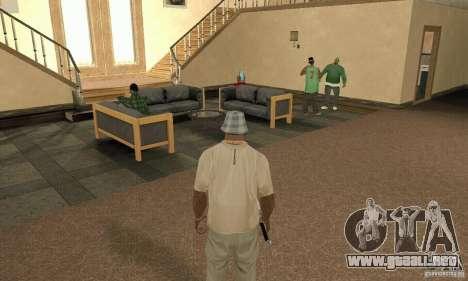 Una Villa para GTA San Andreas quinta pantalla