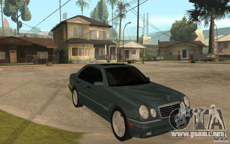 Mercedes-Benz E420 W210 1997 para GTA San Andreas vista hacia atrás