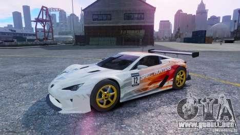 Lexus LFA SH para GTA 4