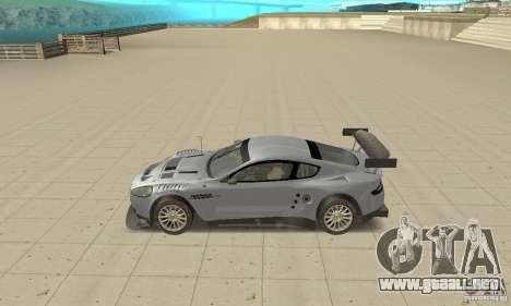 Aston Martin DBR9 (v1.0.0) para GTA San Andreas left