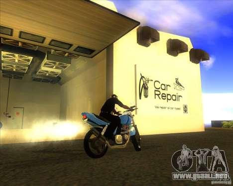 Yamaha XJR400 para la visión correcta GTA San Andreas
