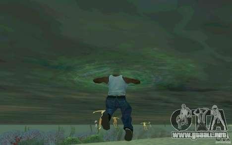 Las personas son capaces de nadar para GTA San Andreas tercera pantalla