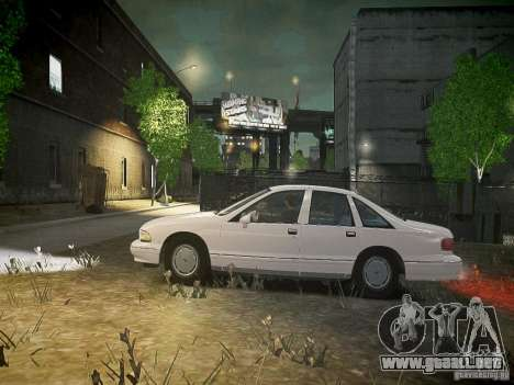Chevrolet Caprice 1993 Rims 1 para GTA 4 left