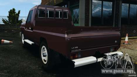 Toyota Land Cruiser Pick-Up 2012 para GTA 4 left