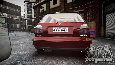 Volkswagen Golf MK3 GTI para GTA 4 vista lateral