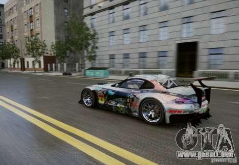 BMW Z4 GT3 2010 V.2.0 para GTA 4 vista interior
