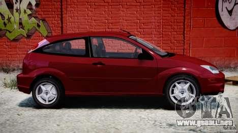 Ford Focus SVT para GTA 4 left