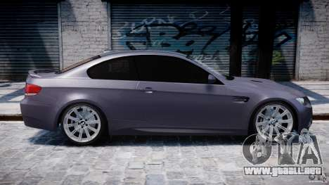 BMW M3 E92 stock para GTA 4 interior