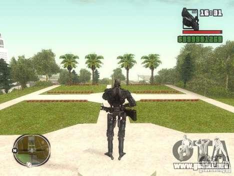 T-600 para GTA San Andreas segunda pantalla