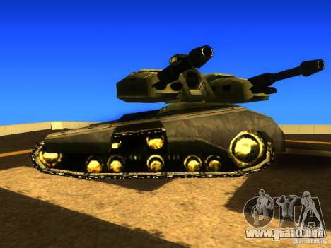Star Wars Tank v1 para GTA San Andreas left