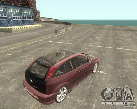 Ford Focus SVT para GTA San Andreas left