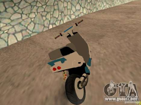 MBK Booster para GTA San Andreas left