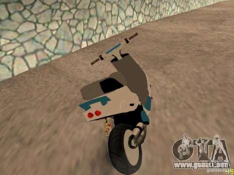 MBK Booster para GTA San Andreas left