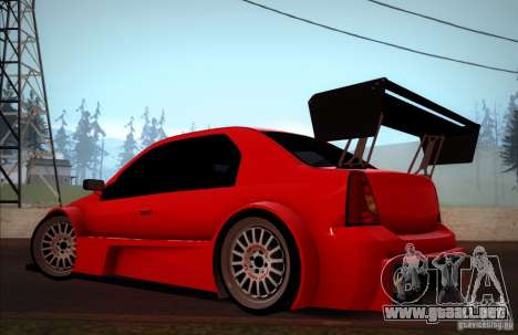 Dacia Logan Trophy Edition 2005 para GTA San Andreas left