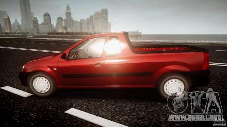 Dacia Logan Pick-up ELIA tuned para GTA 4 left