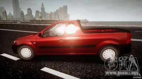 Dacia Logan Pick-up ELIA tuned para GTA 4 left