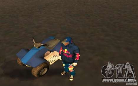 Red Bull Clothes v1.0 para GTA San Andreas segunda pantalla