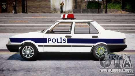 Tofas Sahin Turkish Police v1.0 para GTA 4 left
