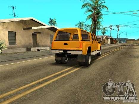 GMC TopKick para la visión correcta GTA San Andreas