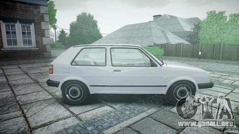 Volkswagen GOLF MK2 GTI para GTA 4 left