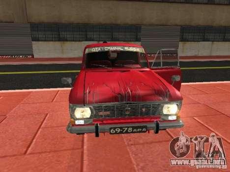 Moskvich 434 para visión interna GTA San Andreas