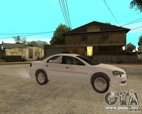 Siber Volga GAZ en 2,5 para la visión correcta GTA San Andreas