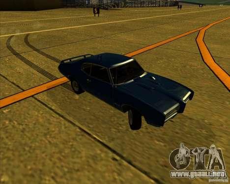 Pontiac GTO 1969 para vista lateral GTA San Andreas