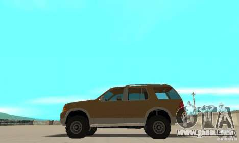 Ford Explorer 2002 para GTA San Andreas left