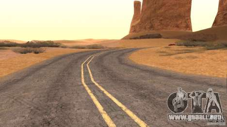 New HQ Roads para GTA San Andreas novena de pantalla