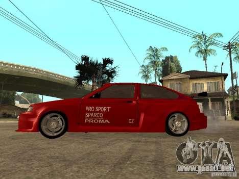 Diablo rojo VAZ-2112 para GTA San Andreas left