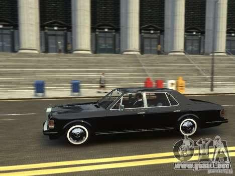 Rolls-Royce Silver Spirit 1990 para GTA 4 vista hacia atrás